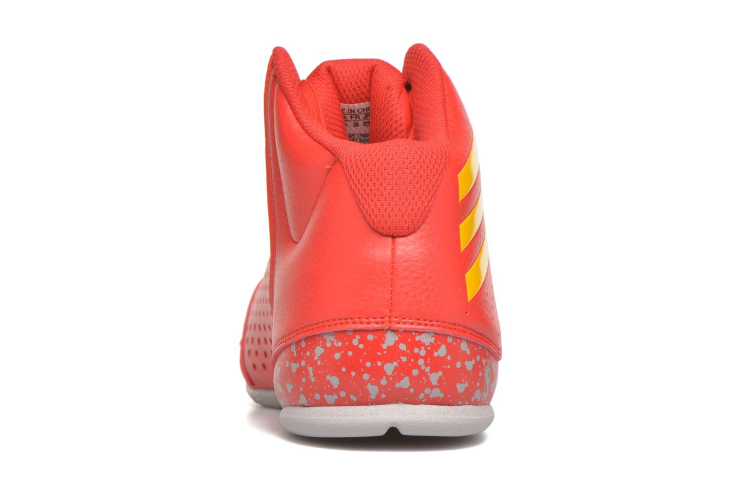 Sport shoes Adidas Performance NXT LVL SPD IV NBA K Red view from the right