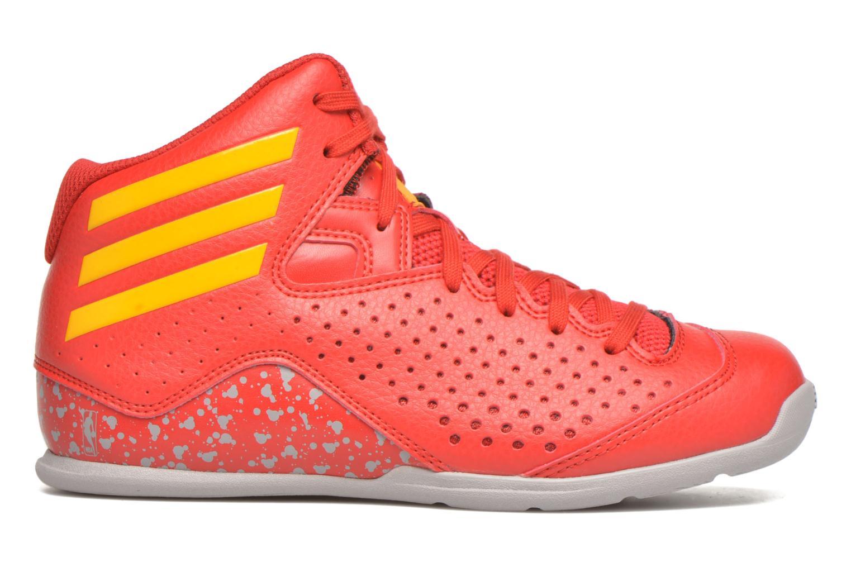 Chaussures de sport Adidas Performance NXT LVL SPD IV NBA K Rouge vue derrière