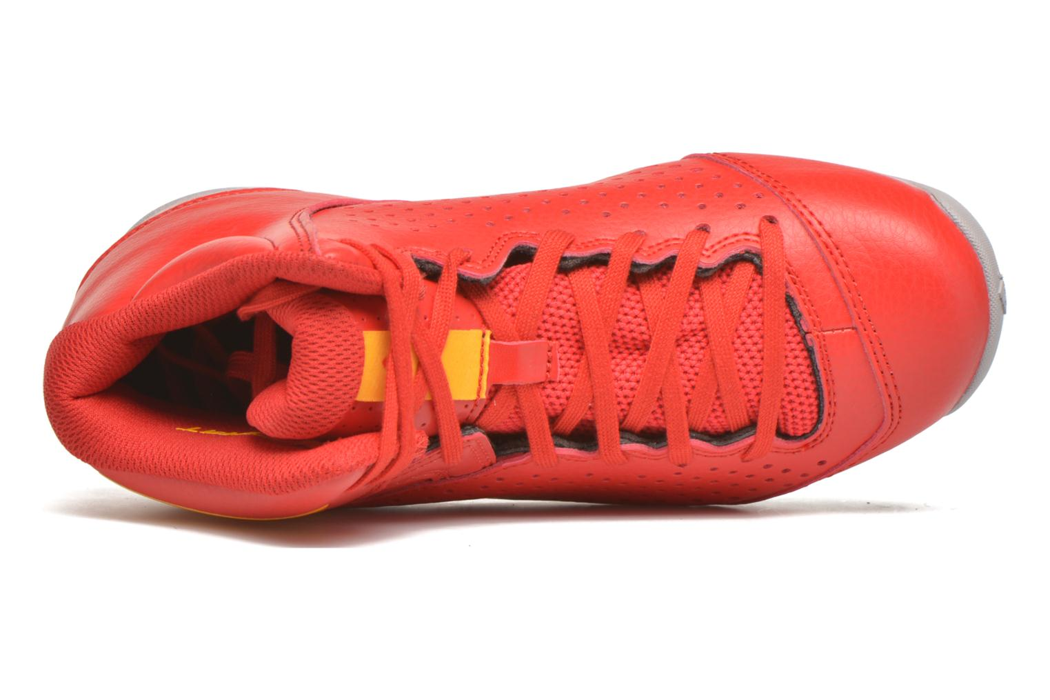 Sport shoes Adidas Performance NXT LVL SPD IV NBA K Red view from the left