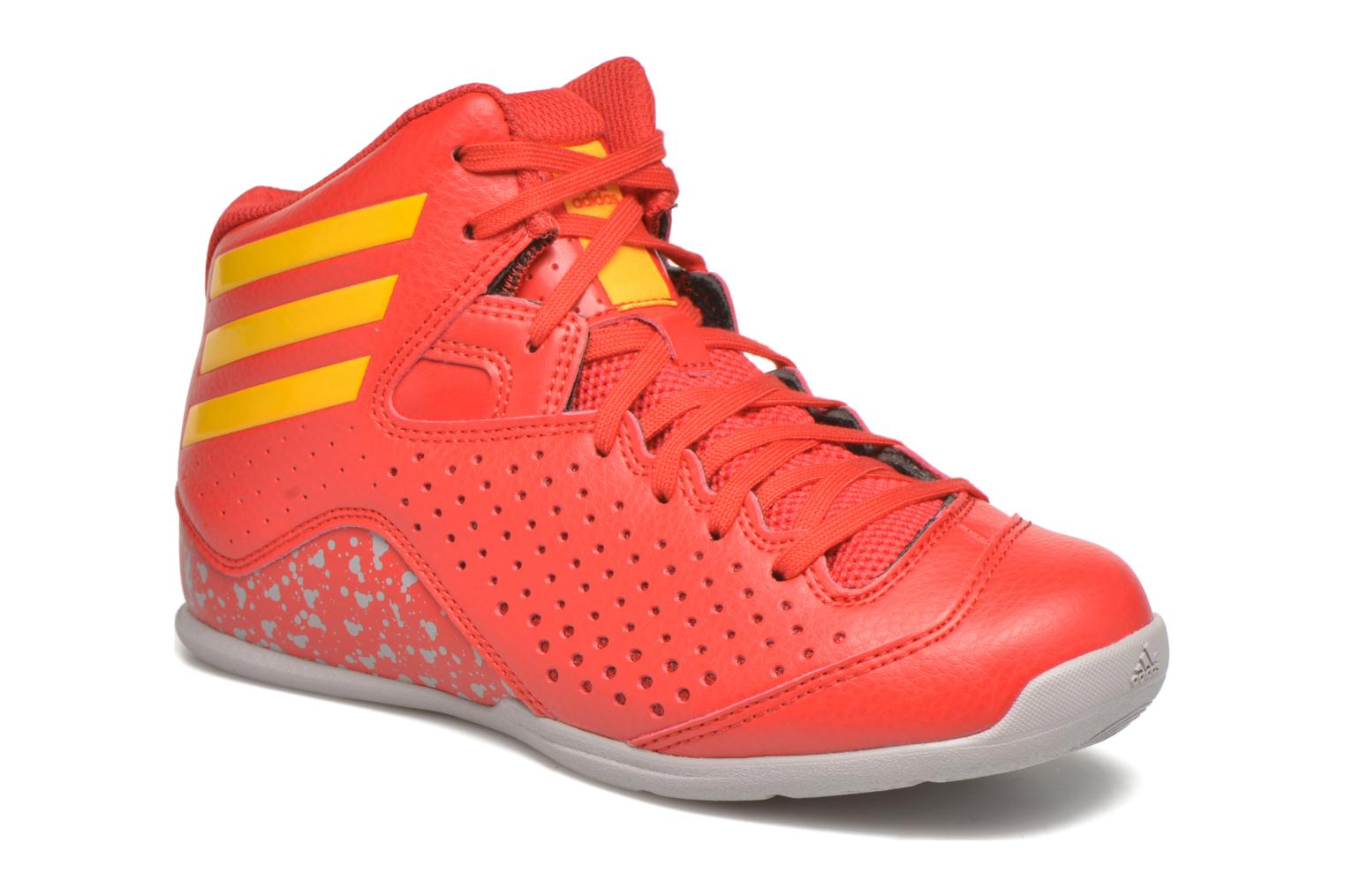 Sport shoes Adidas Performance NXT LVL SPD IV NBA K Red detailed view/ Pair view