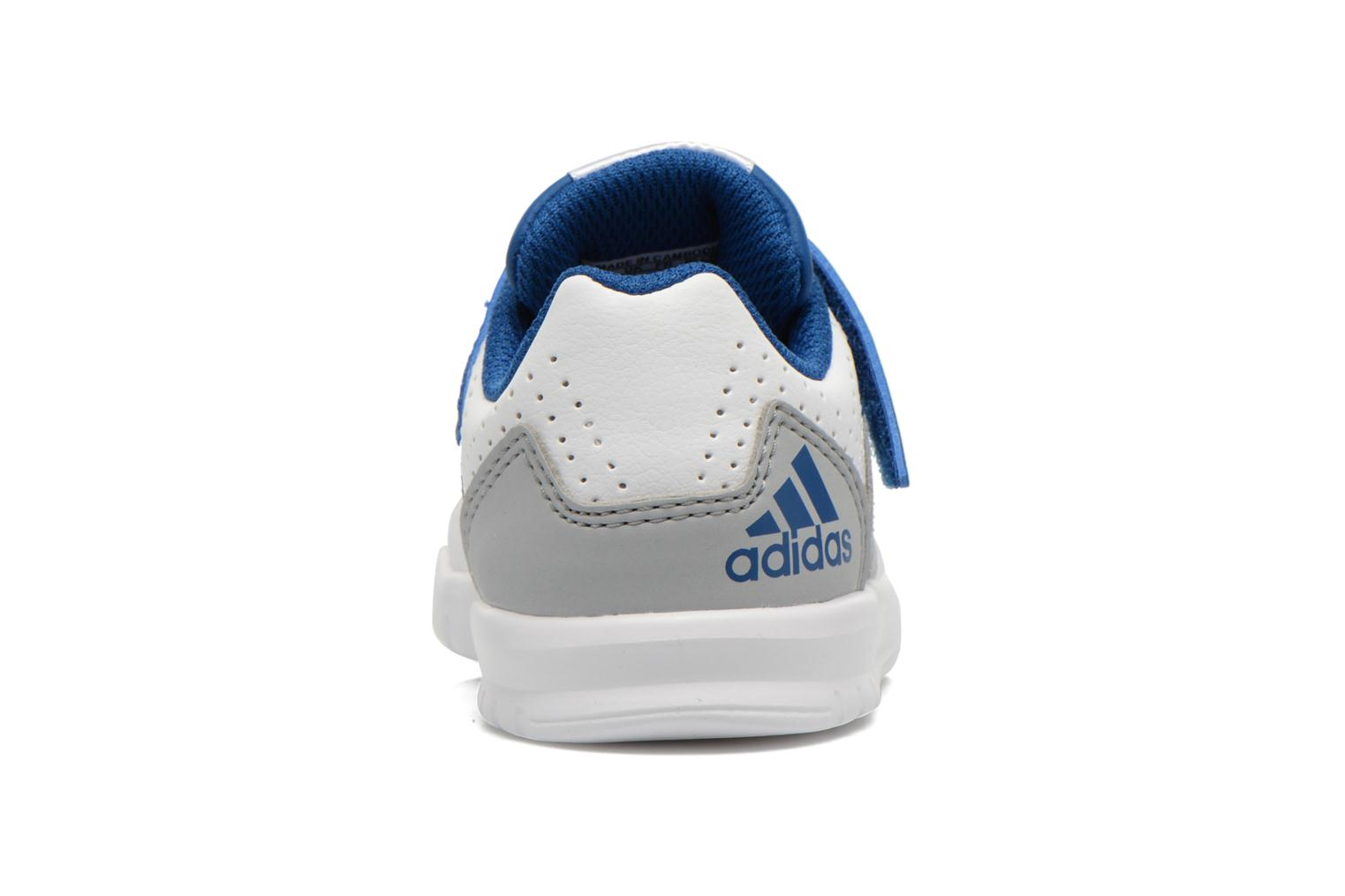 Trainers Adidas Performance LK Trainer 7 EL I White view from the right