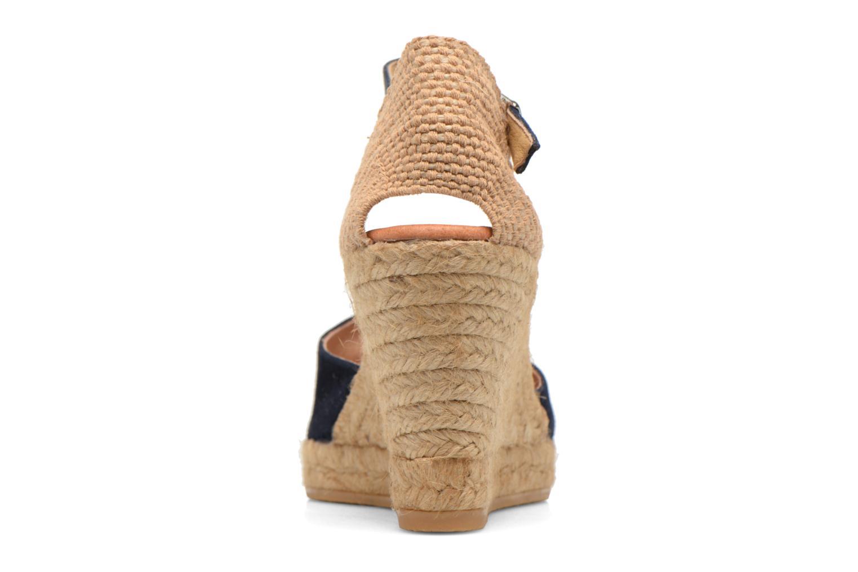 Sandales et nu-pieds Georgia Rose Iponiki Bleu vue droite