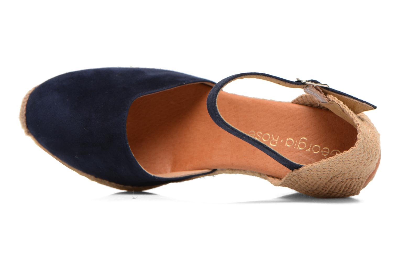 Sandales et nu-pieds Georgia Rose Iponiki Bleu vue gauche