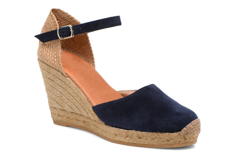 Sandales et nu-pieds Georgia Rose Iponiki Bleu vue détail/paire