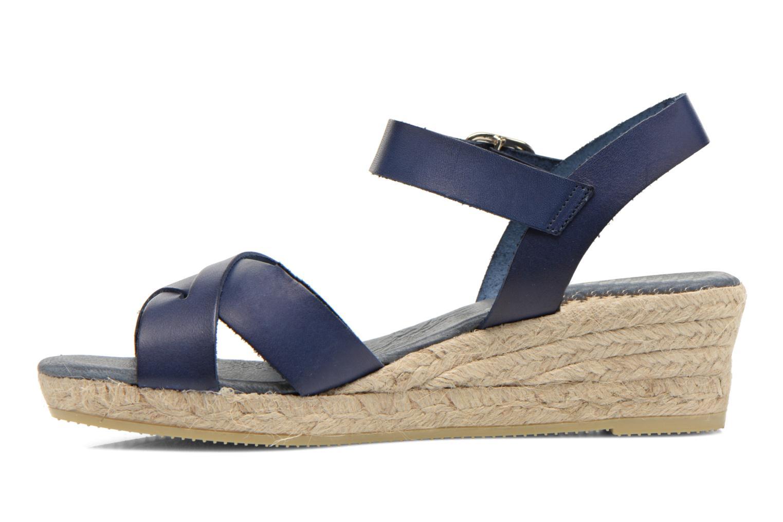 Sandales et nu-pieds Georgia Rose Inof Bleu vue face