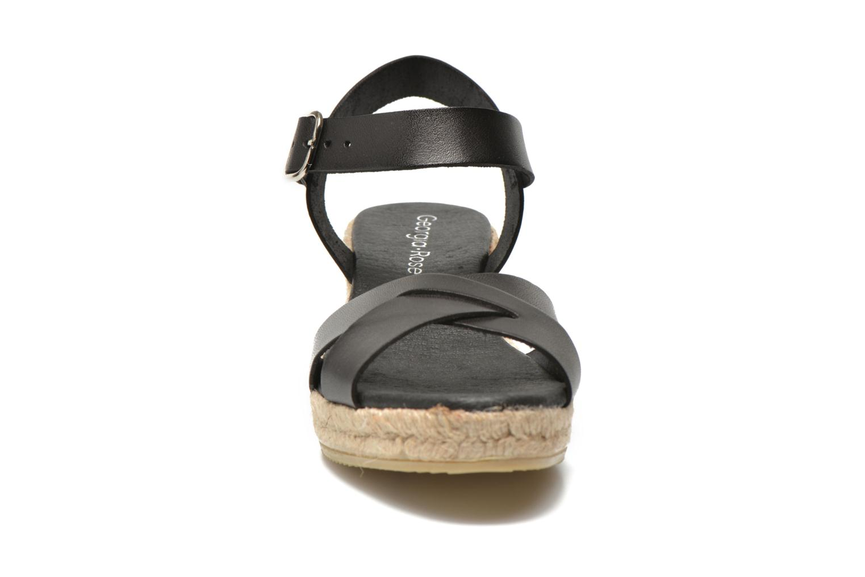 Sandales et nu-pieds Georgia Rose Inof Noir vue portées chaussures