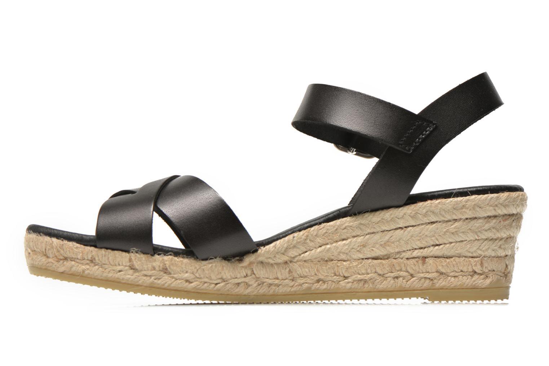 Sandalen Georgia Rose Inof schwarz ansicht von vorne