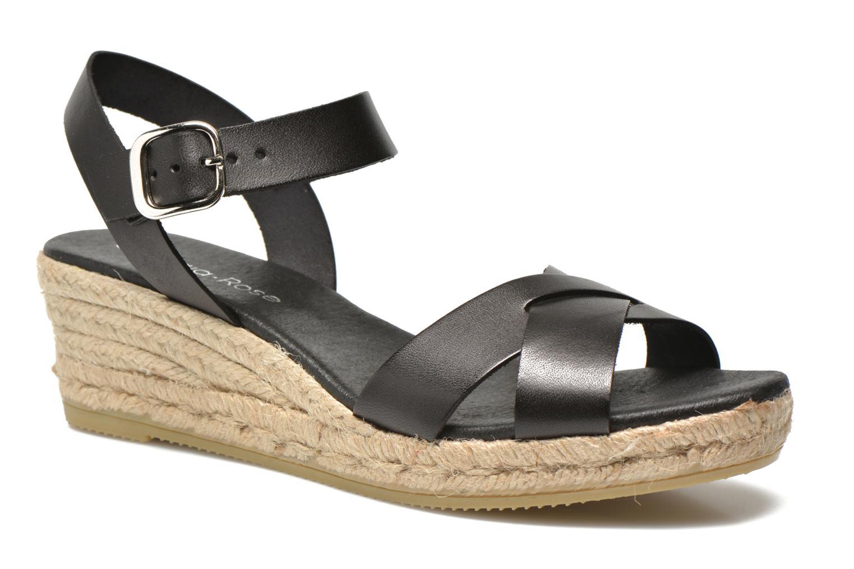 Sandales et nu-pieds Georgia Rose Inof Noir vue détail/paire