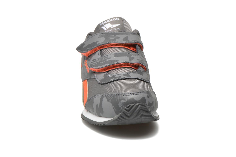Baskets Reebok Reebok Royal Cljog 2Gr 2V Gris vue portées chaussures