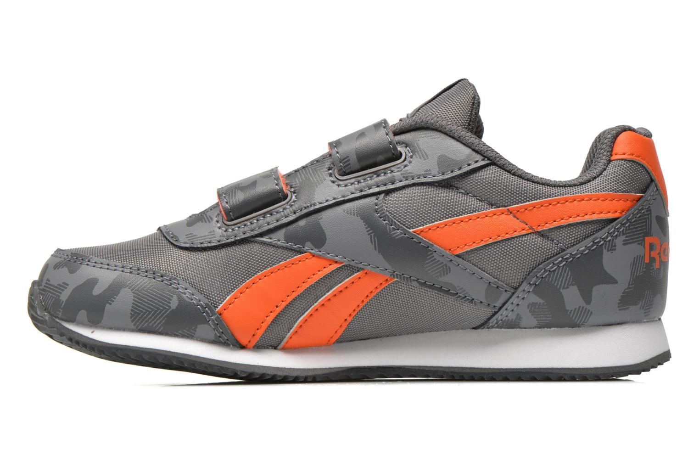 Sneaker Reebok Reebok Royal Cljog 2Gr 2V grau ansicht von vorne