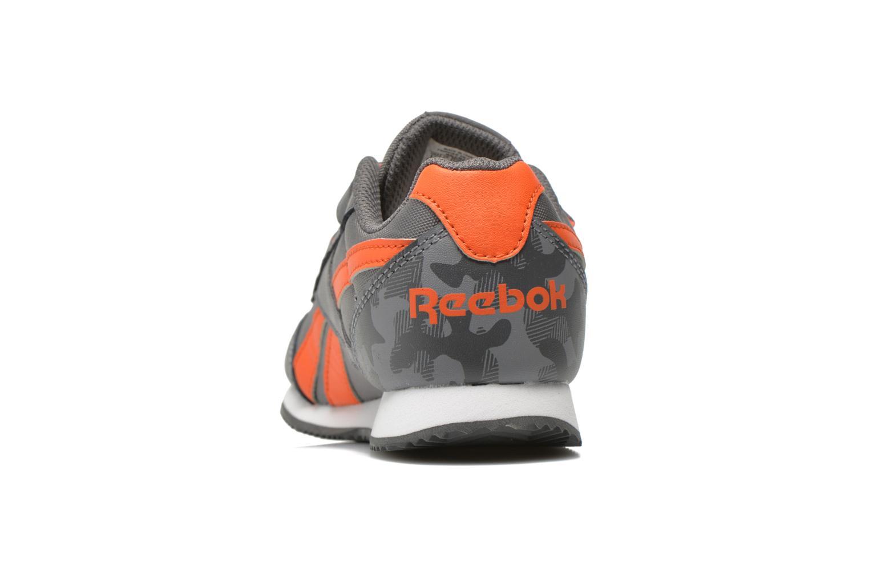 Sneaker Reebok Reebok Royal Cljog 2Gr 2V grau ansicht von rechts