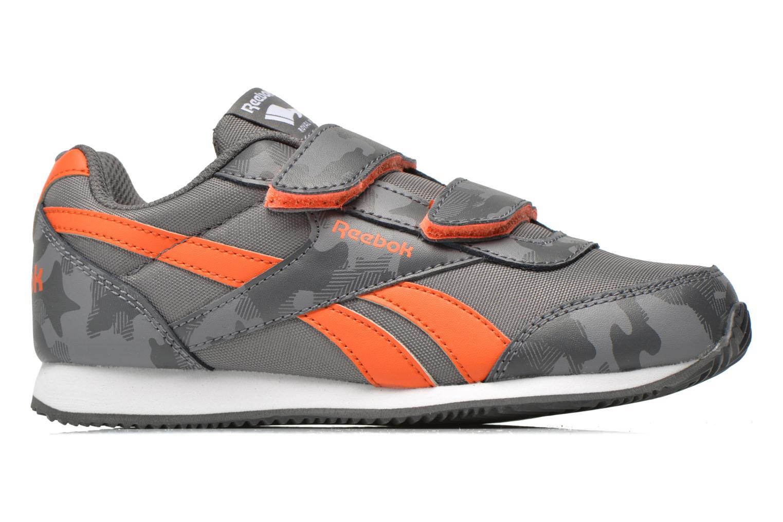 Sneaker Reebok Reebok Royal Cljog 2Gr 2V grau ansicht von hinten