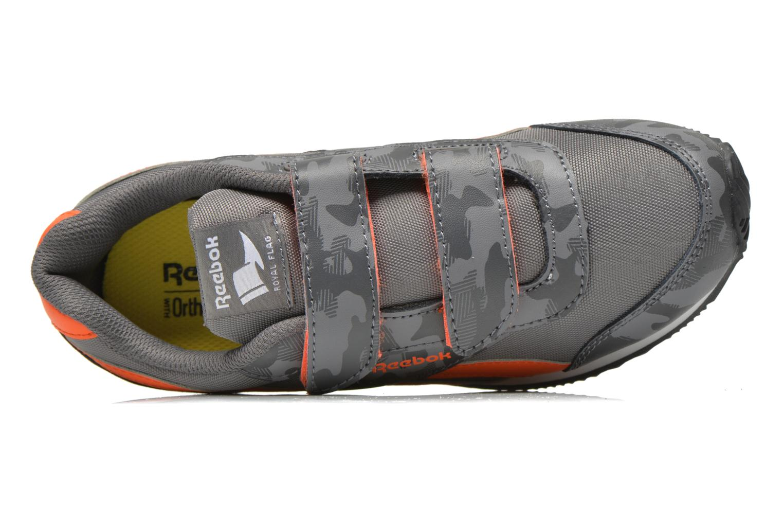 Sneaker Reebok Reebok Royal Cljog 2Gr 2V grau ansicht von links