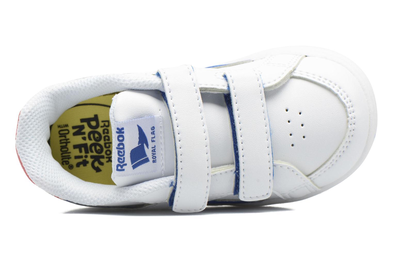 Baskets Reebok Reebok Royal Prime Alt Blanc vue gauche