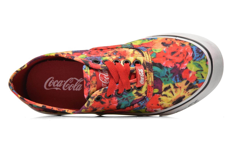 White Coca-cola shoes Kick Rimini (Bleu)