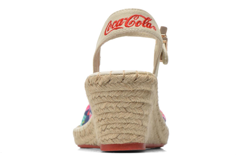 Sandalen Coca-cola shoes City Floral Multicolor rechts