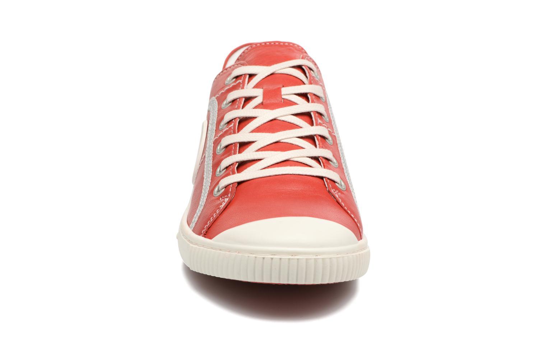 Baskets Pataugas Baheri Rouge vue portées chaussures