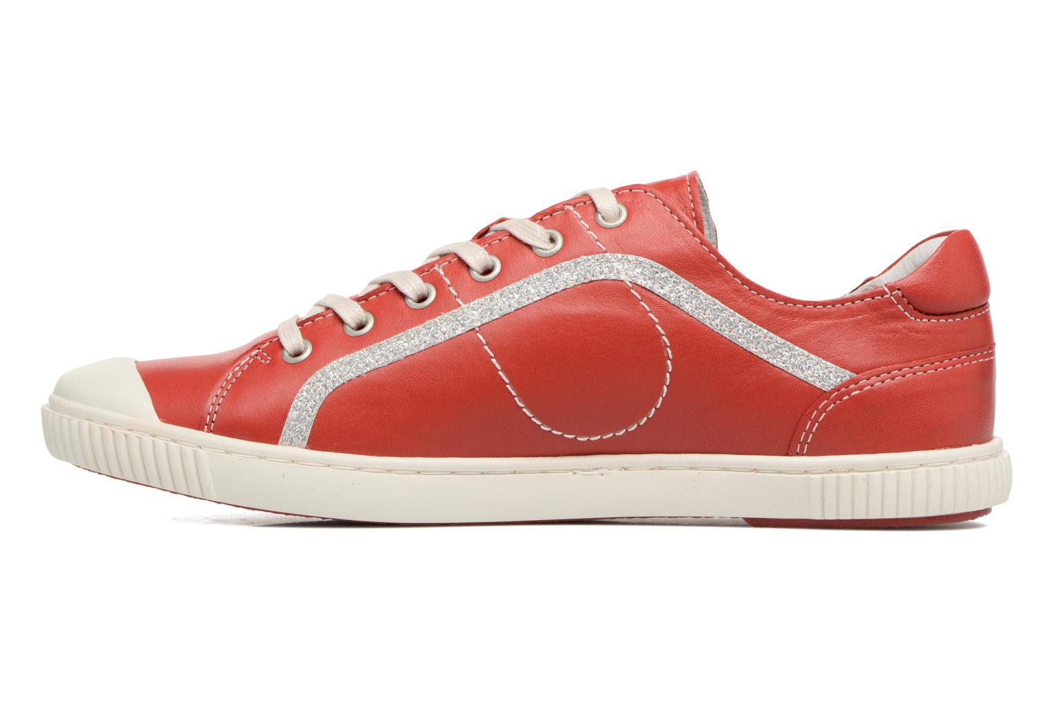 Trainers Pataugas Baheri Red front view
