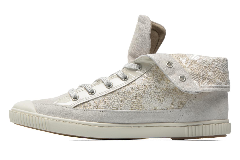 Sneaker Pataugas Bandit/GU weiß ansicht von vorne