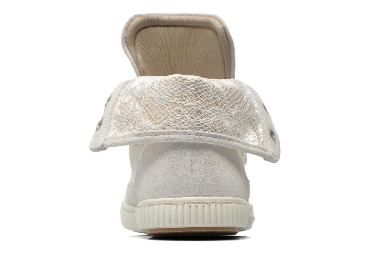 Sneaker Pataugas Bandit/GU weiß ansicht von rechts