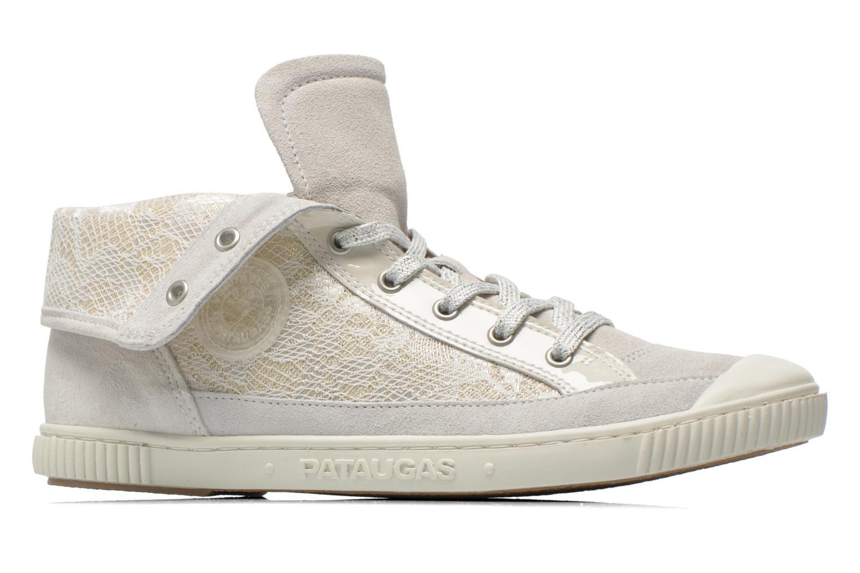 Sneaker Pataugas Bandit/GU weiß ansicht von hinten