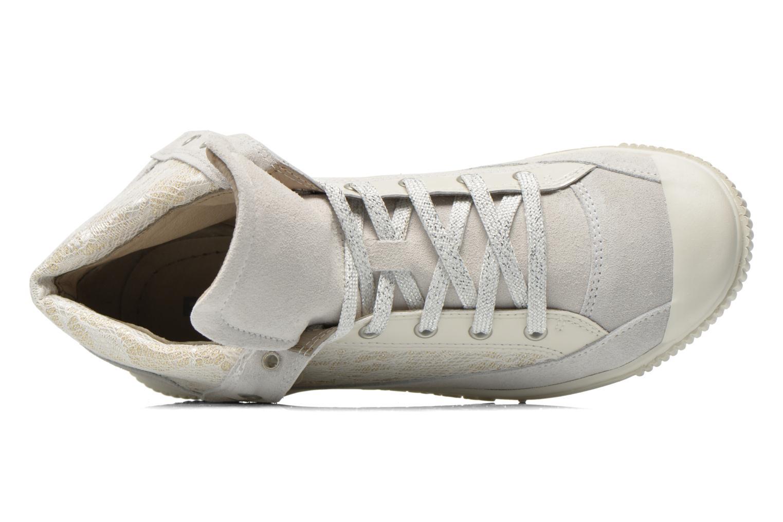 Sneaker Pataugas Bandit/GU weiß ansicht von links
