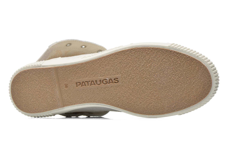 Sneaker Pataugas Bandit/GU weiß ansicht von oben