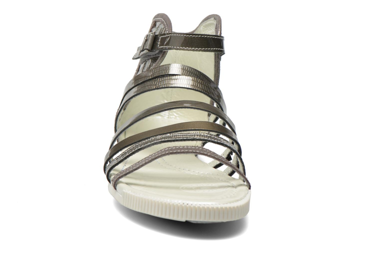 Sandales et nu-pieds Pataugas Chic/V Argent vue portées chaussures
