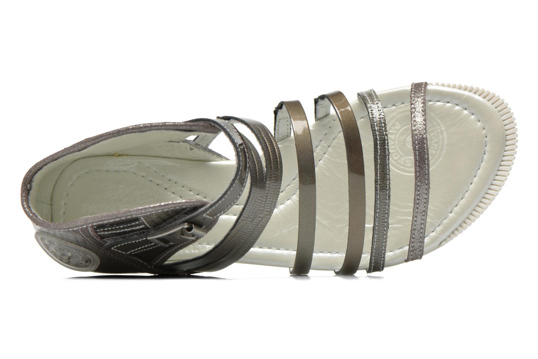 Sandales et nu-pieds Pataugas Chic/V Argent vue gauche