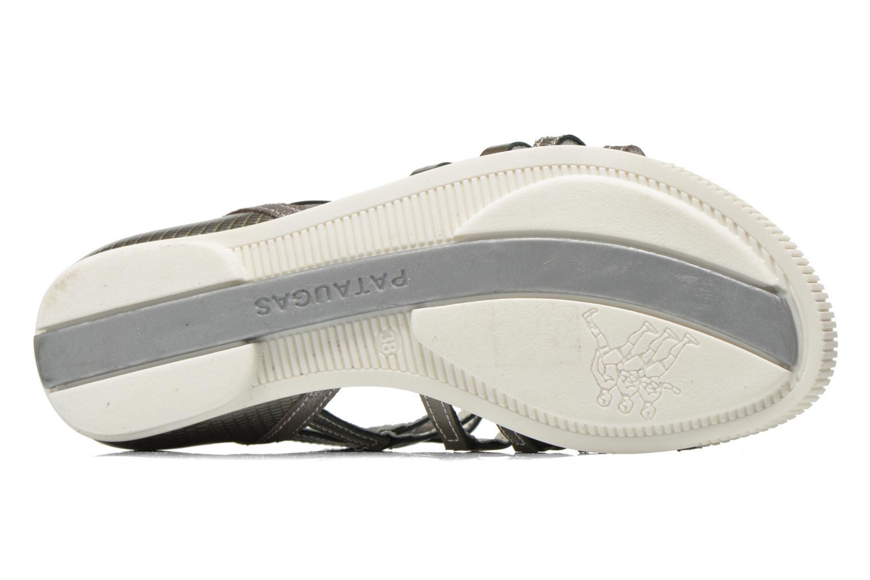 Sandales et nu-pieds Pataugas Chic/V Argent vue haut