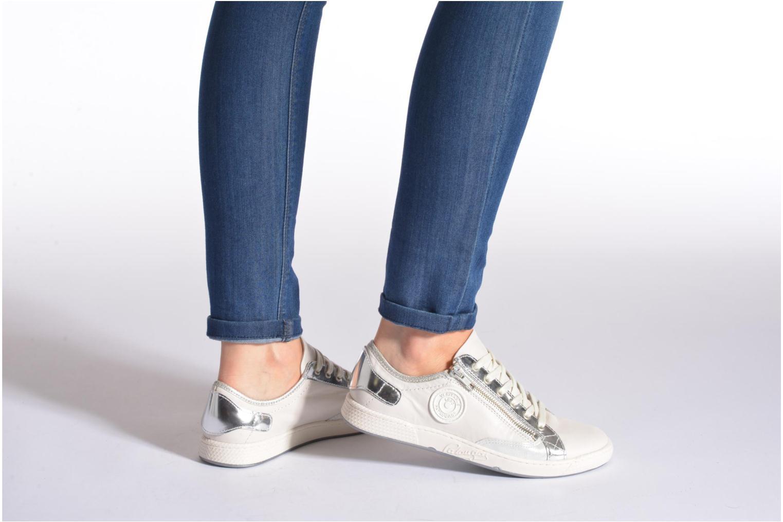 Sneaker Pataugas Jester/MI silber ansicht von unten / tasche getragen