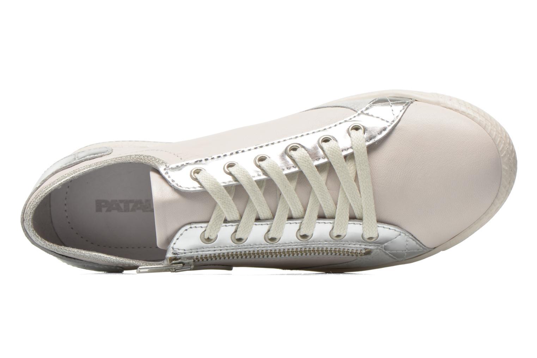 Sneaker Pataugas Jester/MI silber ansicht von links
