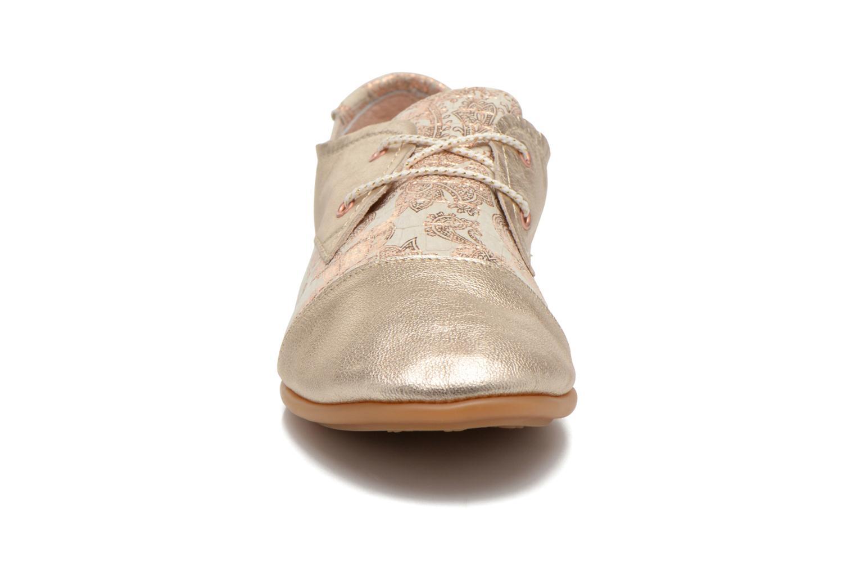 Baskets Pataugas Swing/CA Or et bronze vue portées chaussures