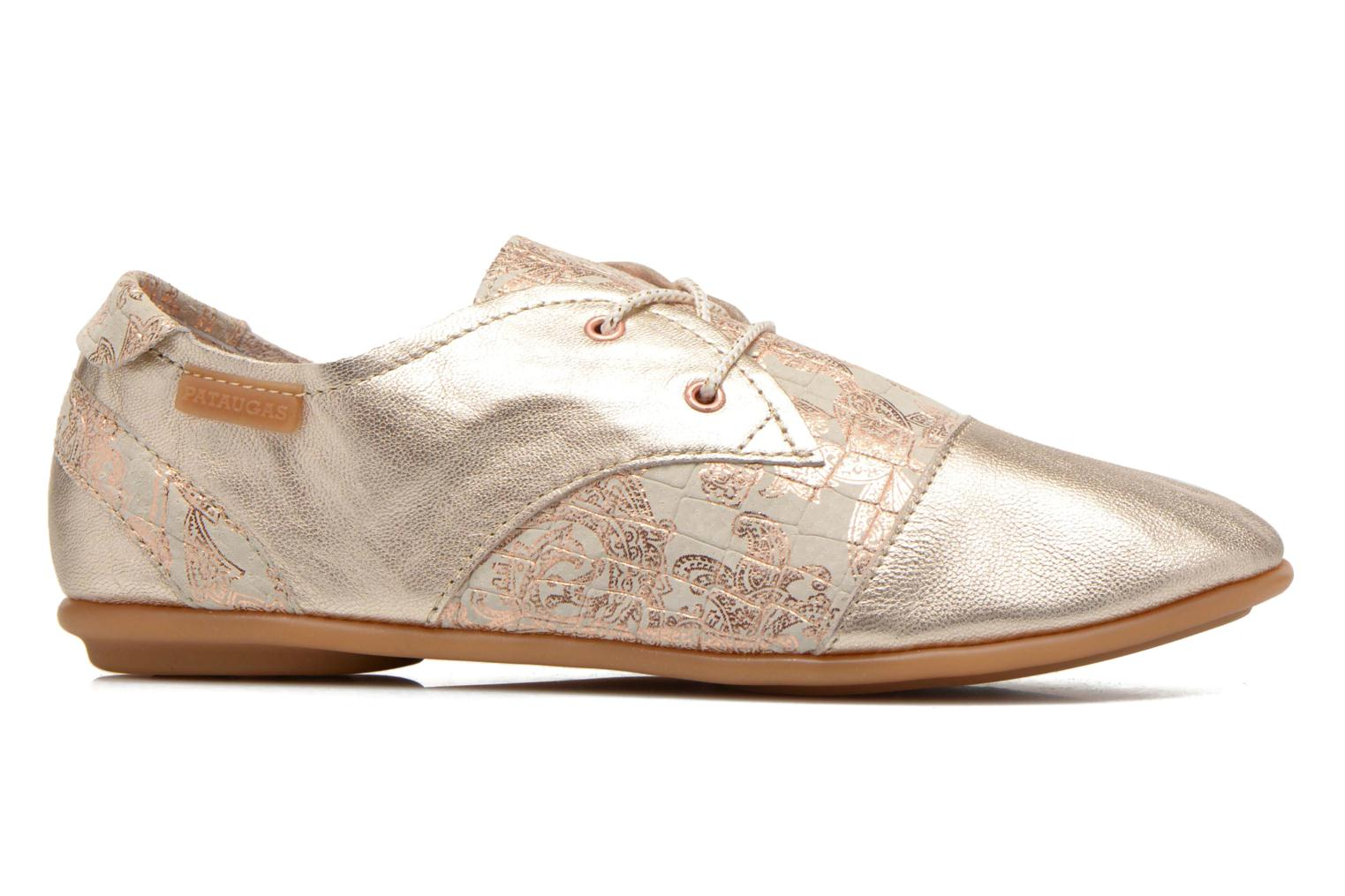 Trainers Pataugas Swing/CA Bronze and Gold back view