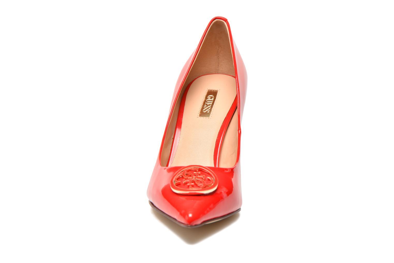 Escarpins Guess Elyca2 Rouge vue portées chaussures