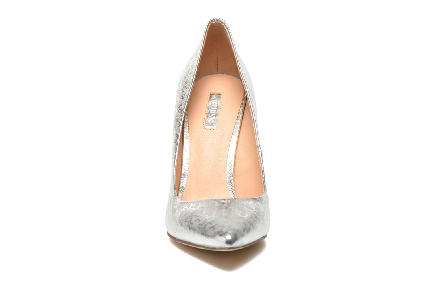 High heels Guess Plasma6 Silver model view