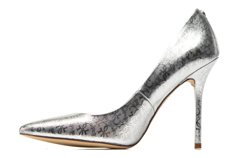 Zapatos de tacón Guess Plasma6 Plateado vista de frente