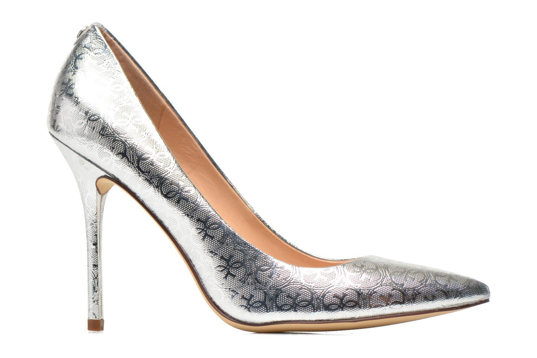 Zapatos de tacón Guess Plasma6 Plateado vistra trasera