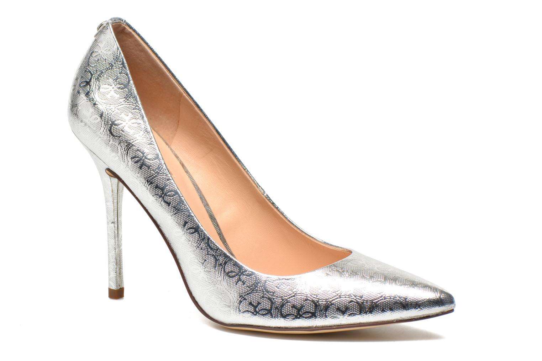 Zapatos de tacón Guess Plasma6 Plateado vista de detalle / par