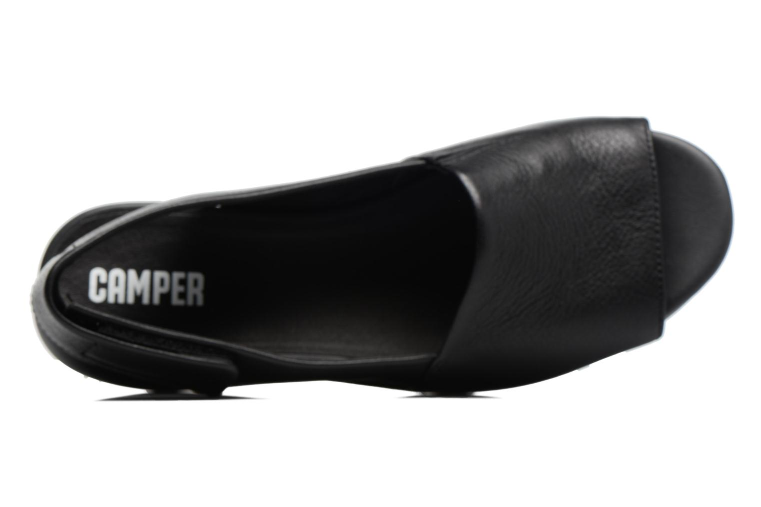 Sandals Camper Balloon K200064 Black view from the left