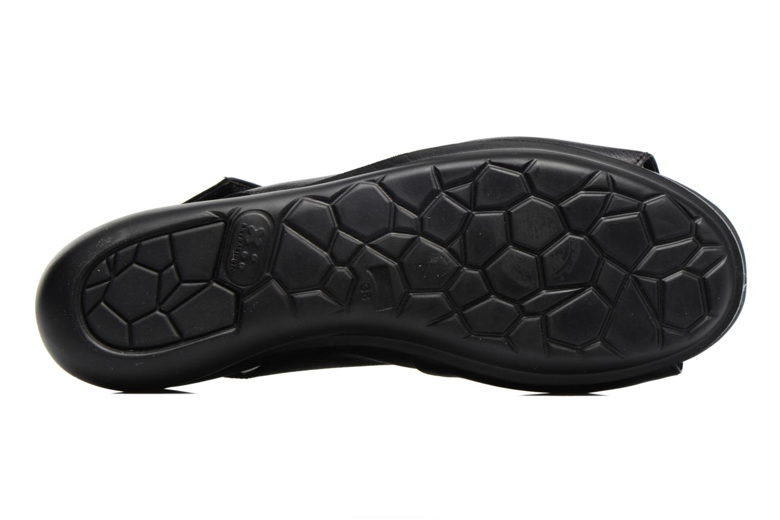 Sandals Camper Balloon K200064 Black view from above