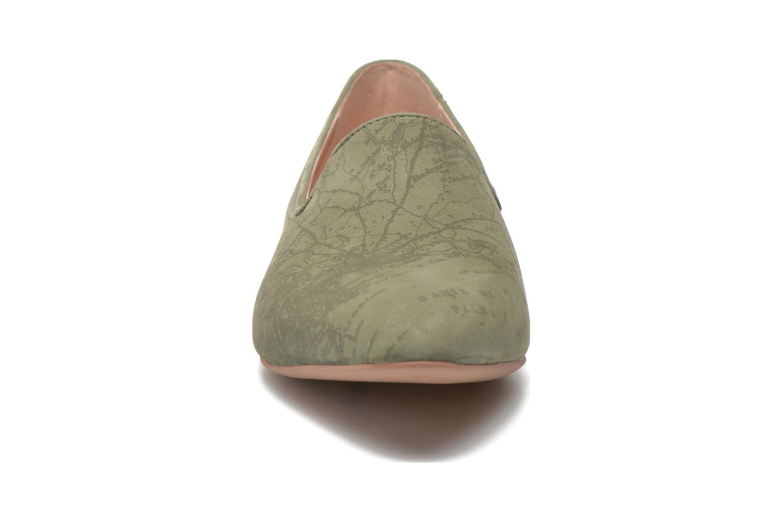 Mocassins Camper Twss K200184 Vert vue portées chaussures
