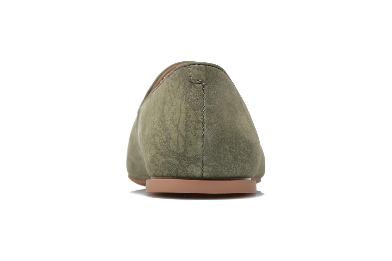 Mocasines Camper Twss K200184 Verde vista lateral derecha