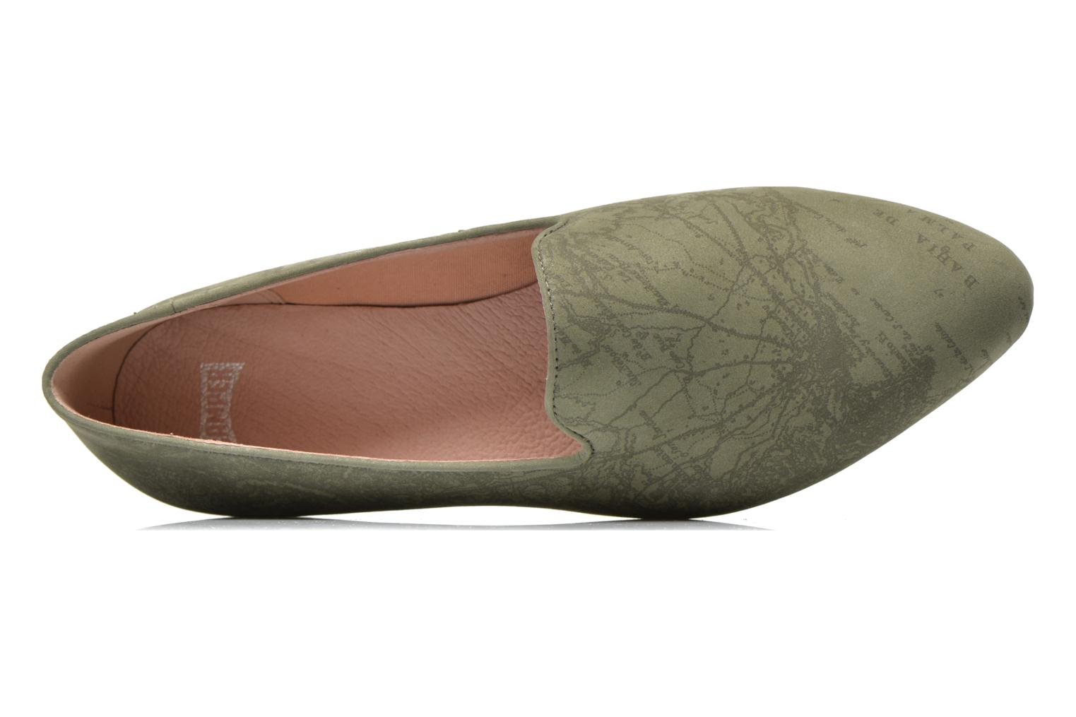 Loafers Camper Twss K200184 Green view from the left