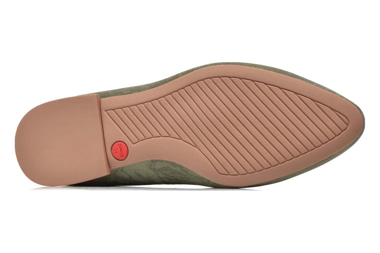 Loafers Camper Twss K200184 Green view from above