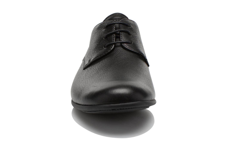 Schnürschuhe Camper Slippers Sun K100070 schwarz schuhe getragen