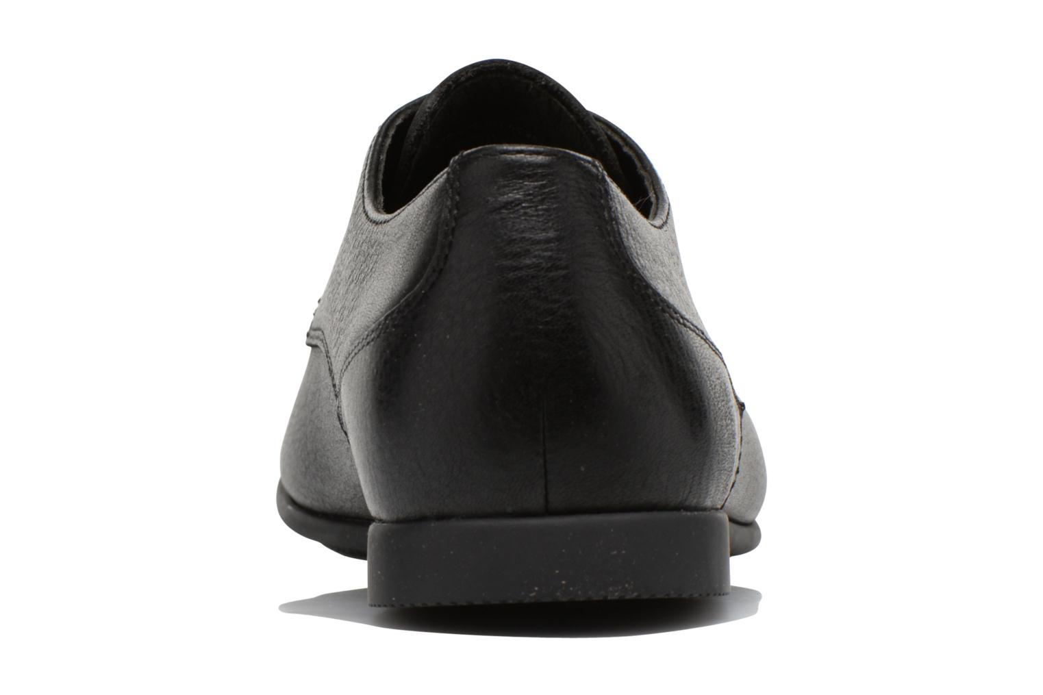Lace-up shoes Camper Slippers Sun K100070 Black view from the right
