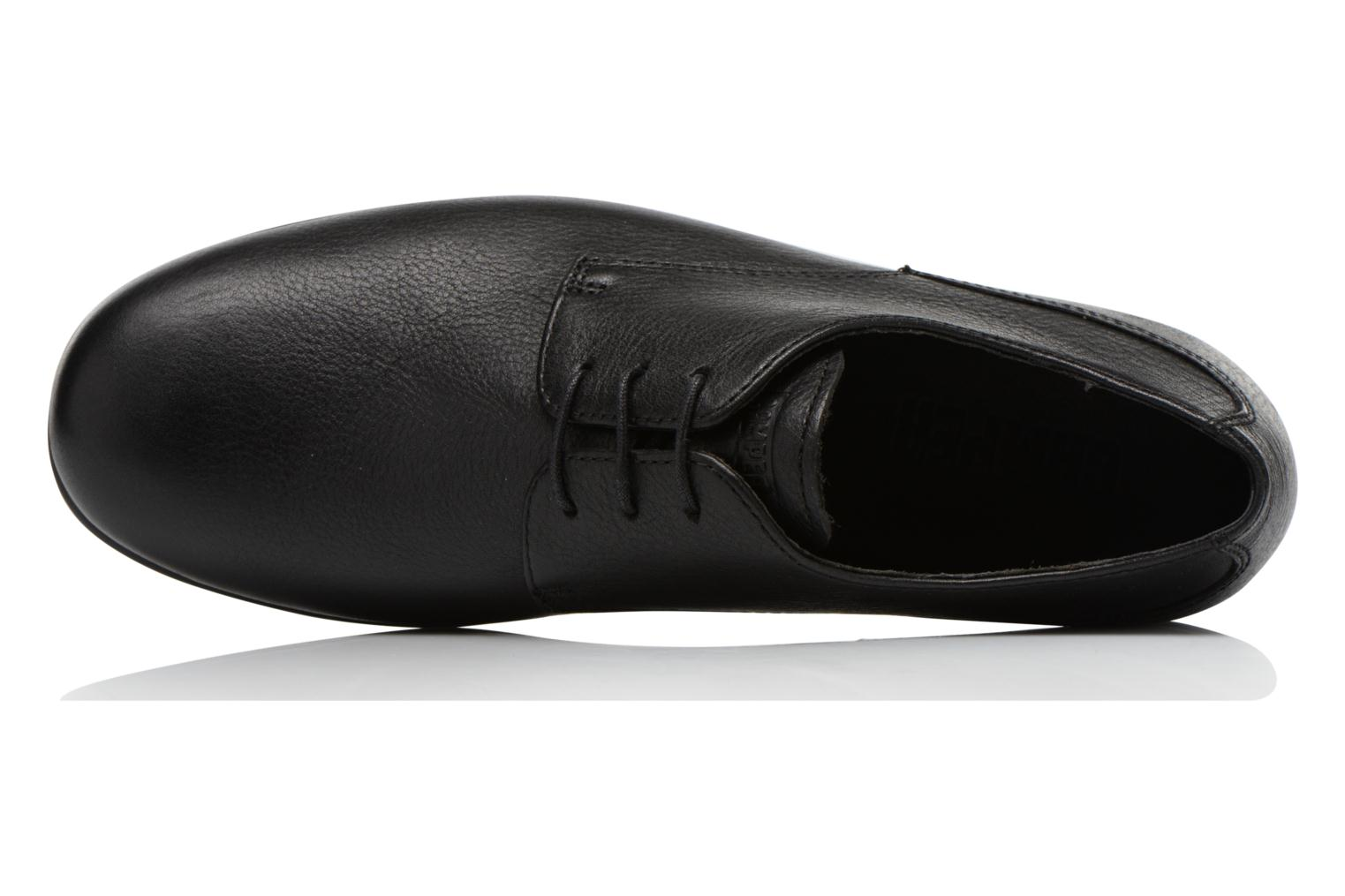 Lace-up shoes Camper Slippers Sun K100070 Black view from the left