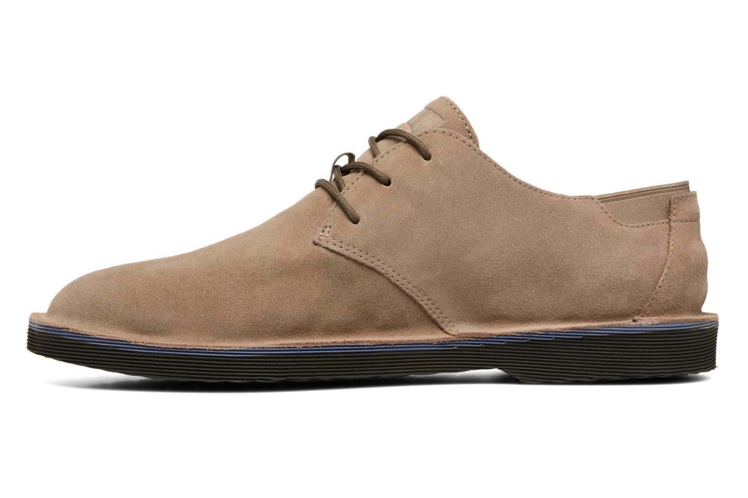 Lace-up shoes Camper Morrys K100057 Beige front view