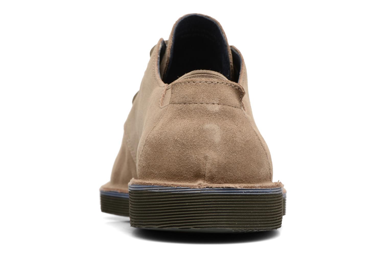 Chaussures à lacets Camper Morrys K100057 Beige vue droite